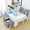 זול כיסויי שולחן-עכשווי יום יומי כותנה סיבי פוליאסטר ריבוע Cube כיסויי שולחן מעוטר מדפיס עמיד במים לוח קישוטים