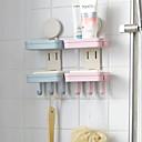 ราคาถูก ไฟเพดาน-สบู่คู่กับตะขอไม่มีรอยต่อกาวระบายน้ำห้องครัวห้องน้ำชั้นพลาสติก