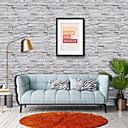 billige Tapet-bakgrunns Vinylal Tapetsering - Selvklebende Art Deco / Murstein