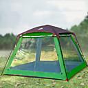 billige Mote Boots-Hewolf 8 personer Familie Camping Telt Utendørs Vindtett Regn-sikker Anvendelig Dobbelt Lagdelt Stang camping Tent >3000 mm til Camping / Vandring / Grotte Udforskning Picnic Oxfordtøy 300*300*215 cm