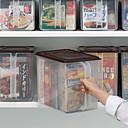 baratos Frascos e Caixas-Alta qualidade com Plásticos Caixas de Armazenamento Uso Diário Cozinha Armazenamento 2 pcs