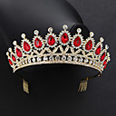 cheap Party Headpieces-Crystal / Alloy Tiaras with Crystal 1 Piece Wedding / Special Occasion Headpiece