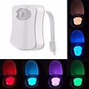billiga Dekor och nattlampa-1st Toalettljus AAA Batterier Drivs Färggradient 5 V