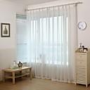 ราคาถูก แหวน-Country กึ่งเชียร์ หนึ่งช่อง Sheer Study Room / Office   Curtains / วิธีลงลวดลายลงในเนื้อผ้า