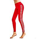 Χαμηλού Κόστους Ημέρα επιστροφής στο σπίτι-Ρούχα Γυμναστικής Παντελόνια Φούστες / Γιόγκα Γυναικεία Εκπαίδευση / Επίδοση Ελαστικό / Ελαστίνη / Polyster Διαφορετικά Υφάσματα Φυσικό Παντελόνια