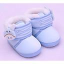 olcso Gyerek bakancsok-Lány Kényelmes / Első cipő Pamut Csizmák Tipegő (9m-4ys) Bézs / Kék / Rózsaszín Tél / Bokacsizmák