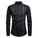 """זול חולצות רכיבת אופניים-פסים האיחוד האירופי / ארה""""ב גודל כותנה, חולצה - בגדי ריקוד גברים שחור"""