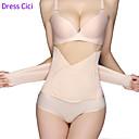 baratos Depilação e Remoção de Pelos-Mulheres De amarrar Sem Busto - Tecido, Compressão abdominal Bege Tamanho Único
