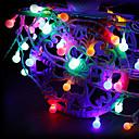 Χαμηλού Κόστους Τσάντες Tote-3M Φώτα σε Κορδόνι 20 LEDs Θερμό Λευκό / RGB / Άσπρο Δημιουργικό / Πάρτι / Διακοσμητικό Μπαταρίες AA Powered 1set