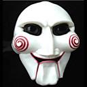 billiga Halloween- och karnevalkostymer-Cosplay Kostymer / Dräkter Mask Halloween-mask Inspirerad av V for Vendetta Vit Cosplay Halloween Halloween Karnival Maskerad Vuxna Herr Dam