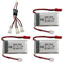 billiga Modeörhängen-MJX X401H X402 7.4V 350mAh 1set batteri