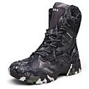 ราคาถูก รองเท้าบูตผู้ชาย-สำหรับผู้ชาย Desert Boots หนัง ฤดูใบไม้ร่วง & ฤดูหนาว คลาสสิก บูท เดินป่า ไม่ลื่นไถล บู้ทสูงระดับกลาง Camouflage Color สีดำ / สีน้ำตาล / สีเทา