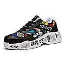 זול סניקרס לגברים-בגדי ריקוד גברים נעלי נוחות רשת / סינטטיים אביב קיץ יום יומי נעלי ספורט נושם לבן / שחור / אדום