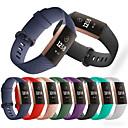 ราคาถูก เคสสำหรับ iPhone-สายนาฬิกา สำหรับ Fitbit Charge 3 Fitbit สายยางสำหรับเส้นกีฬา ยางทำจากซิลิคอน สายห้อยข้อมือ