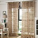 baratos Cortinas Transparentes-Moderna Transparente Um Painel Transparente Sala de Estar   Curtains / Jacquard