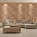 cheap Wallpaper-Fashion Brick PVC Waterproof Self-adhesive Wallpaper