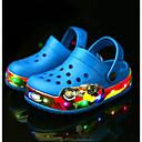 זול מגפיים לילדים-בנים / בנות חדשני / נעליים זוהרות ניילון / לטקס סנדלים פעוט (9m-4ys) / ילדים קטנים (4-7) נעלי מים / נעלי ספורט מים פרנזים / LED ורוד / כחול ים קיץ / מגפונים\מגף קרסול