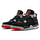 זול נעלי ספורט לגברים-בגדי ריקוד גברים נעלי נוחות דמוי עור אביב קיץ נעלי אתלטיקה כדורסל אפור כהה / אדום