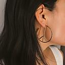 ราคาถูก ตุ้มหู-สำหรับผู้หญิง ต่างหู ต่างหู เครื่องประดับ สีทอง / สีเงิน สำหรับ ปาร์ตี้ วันครบรอบ ทุกวัน ฮอลิเดย์ เทศกาล 1 คู่