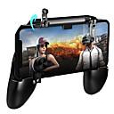 ราคาถูก อุปกรณ์เสริมเกมโทรศัพท์-Pugb ควบคุมเกมมือถือฟรีไฟ pubg มือถือจอยสติ๊ก gamepad โลหะปุ่ม l1 r1 สำหรับแผ่นเล่นเกม iphone android
