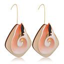 ราคาถูก ตุ้มหู-สำหรับผู้หญิง Drop Earrings ธรรมชาติ Tropical ไม้ เปลือกหอย ต่างหู เครื่องประดับ สีทอง สำหรับ งานแต่งงาน ปาร์ตี้ ทุกวัน Street ทำงาน 1 คู่
