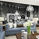 Χαμηλού Κόστους Ταπετσαρία-ταπετσαρία / Τοιχογραφία / Παντόφλες Καμβάς Κάλυψης τοίχων - κόλλα που απαιτείται Art Deco / 3D