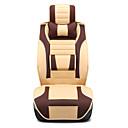 ราคาถูก ผ้าคลุมเบาะ-Car Seat Covers ที่นั่งครอบคลุม สีน้ำตาล / ส้ม / ผ้าขนสัตว์สีธรรมชาติ PU ธุรกิจ สำหรับ Universal ทุกปี
