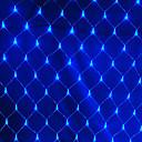 ราคาถูก วิทยุสื่อสาร-2x2M ไฟสาย 144 ไฟ LED RGB / White / น้ำเงิน Waterproof / Creative / ปาร์ตี้ 220-240 V 1set / IP44