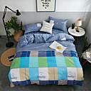 ราคาถูก ปลอกผ้าห่มทันสมัย-ชุดผ้าปูที่นอนผ้านวมรุ่น polyster ลายดอกไม้ 4 ชิ้น