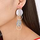 ราคาถูก ถุงเท้าและชุดชั้นใน-สำหรับผู้หญิง Drop Earrings ทูโทน ง่าย รูปแบบแขวน เกี่ยวกับยุโรป แฟชั่น สีสัน ต่างหู เครื่องประดับ สีทอง สำหรับ ทุกวัน Street ฮอลิเดย์ ทำงาน 1 คู่