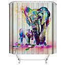 ราคาถูก ก๊อกฝักบัว-Shower Curtains & Hooks ร่วมสมัย Plastics / เส้นใยสังเคราะห์ Waterproof / น่ารัก