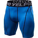 ราคาถูก ชุดออกกำลังกายและชุดโยคะ-YUERLIAN สำหรับผู้ชาย กางเกงขาสั้นรัดรูป สีดำ สีดำ / สีแดง สีเขียว+สีดำ สีแดงเบอร์กันดี ฟ้า วิ่ง การออกกำลังกาย ยิมออกกำลังกาย ชุดชั้นใน กีฬา ชุดทำงาน Lightweight ระบายอากาศ แห้งเร็ว Sweat-wicking