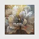 Χαμηλού Κόστους Πίνακες με Λουλούδια/Φυτά-Hang-ζωγραφισμένα ελαιογραφία Ζωγραφισμένα στο χέρι - Άνθινο / Βοτανικό Μοντέρνα Περιλαμβάνει εσωτερικό πλαίσιο / Επενδυμένο καμβά