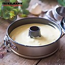billige Bakeformer-1pc Metall Multifunksjonell Søtt Varmebestandig Brød Kake For kjøkkenutstyr Rund Drakter Bakevare Set Cake Moulds Bakeware verktøy