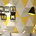 Χαμηλού Κόστους Ταπετσαρία-ταπετσαρία Nonwoven Κάλυψης τοίχων - κόλλα που απαιτείται Γεωμετρικό