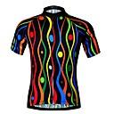 ราคาถูก ของชำร่วยงานแต่งที่แขวน-JESOCYCLING สำหรับผู้หญิง แขนสั้น Cycling Jersey สีดำ ลวดลายดอกไม้ / เกี่ยวกับพฤษศาสตร์ จักรยาน เสื้อยืด Tops ขี่จักรยานปีนเขา Road Cycling ระบายอากาศ แห้งเร็ว กีฬา 100% โพลีเอสเตอร์ เสื้อผ้าถัก