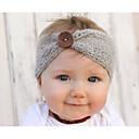 Χαμηλού Κόστους Παιδικά Αξεσουάρ Κεφαλής-Νήπιο Κοριτσίστικα Βασικό / Γλυκός Μονόχρωμο Ακρυλικό Αξεσουάρ Μαλλιών Ανθισμένο Ροζ / Γκρίζο / Φούξια Ένα Μέγεθος