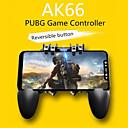 billige Spill og tilbehør til smarttelefon-gamepads ak66 seks finger alt-i-ett mobiltelefon spillkontrollen gratis brann nøkkeltast joystick gamepad l1 r1 utløser for pubg