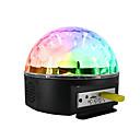ราคาถูก ตะไบเล็บ&ที่ขัด-1set โคมไฟดิสโก้บอล สีสัน พาวเวอร์ AC Bluetooth / ควบคุมจากระยะไกล / บรรยากาศโคมไฟ 100-240 V