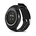 baratos Smartwatches-Y1 Crianças Relógio inteligente Android iOS Bluetooth Esportivo Impermeável Tela de toque Calorias Queimadas Suspensão Longa Podômetro Aviso de Chamada Monitor de Atividade Lembrete sedentária