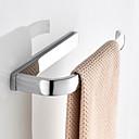 baratos Prateleiras de Banheiro-Barra para Toalha Novo Design Moderna / Modern Latão 1pç Montagem de Parede