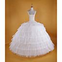 ราคาถูก เสื้อผ้าประวัติศาสตร์และวินเทจ-เจ้าสาว Petticoat ตูตู ภายใต้กระโปรง 1950s ขาว Petticoat / กระโปรงผายก้น