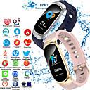 povoljno Smart Wristbands-s3 pametni narukvicu bluetooth fitness tracker podrška za praćenje otkucaja srca / kalorije sagorjele sportski pametni sat za samsung / iphone / android telefone