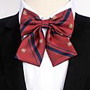 זול אביזרים לגברים-עניבת פפיון - פסים / דפוס / סרוג מסיבה / עבודה / פעיל בגדי ריקוד גברים