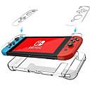 billige Nintendo Switch-tilbehør-cooho nintendo bryter gjennomsiktig krystall tilfelle vernehåndtak beskyttelse tilfelle ns gjennomsiktig pc tilfelle
