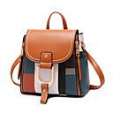 Χαμηλού Κόστους Σακίδια μόδας-PU Φερμουάρ σακκίδιο Συνδυασμός Χρωμάτων Καθημερινά Πορτοκαλί / Κόκκινο / Μαύρο / Άσπρο / Φθινόπωρο & Χειμώνας
