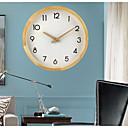 """זול שעוני קיר-מודרני עכשווי עשה-זאת-בעצמך עץ זכוכית עגול בבית / בטבע 30 * 30cm (12 """"12"""")"""
