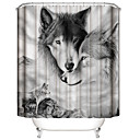 ราคาถูก ผ้าม่านกั้นในห้องน้ำ-Shower Curtains & Hooks ร่วมสมัย / คลาสสิก Plastics / เส้นใยสังเคราะห์ Waterproof / น่ารัก / เท่ห์