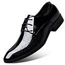 זול נעלי אוקספורד לגברים-בגדי ריקוד גברים נעלי נוחות מיקרופייבר אביב נעלי אוקספורד אדום / כחול / חום בהיר