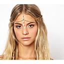 billiga Huvudsmycken till fest-Dam Vintage Elegant Legering Hair Charms Enfärgad
